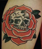 Skull Rose! ヴィンテージスタイル
